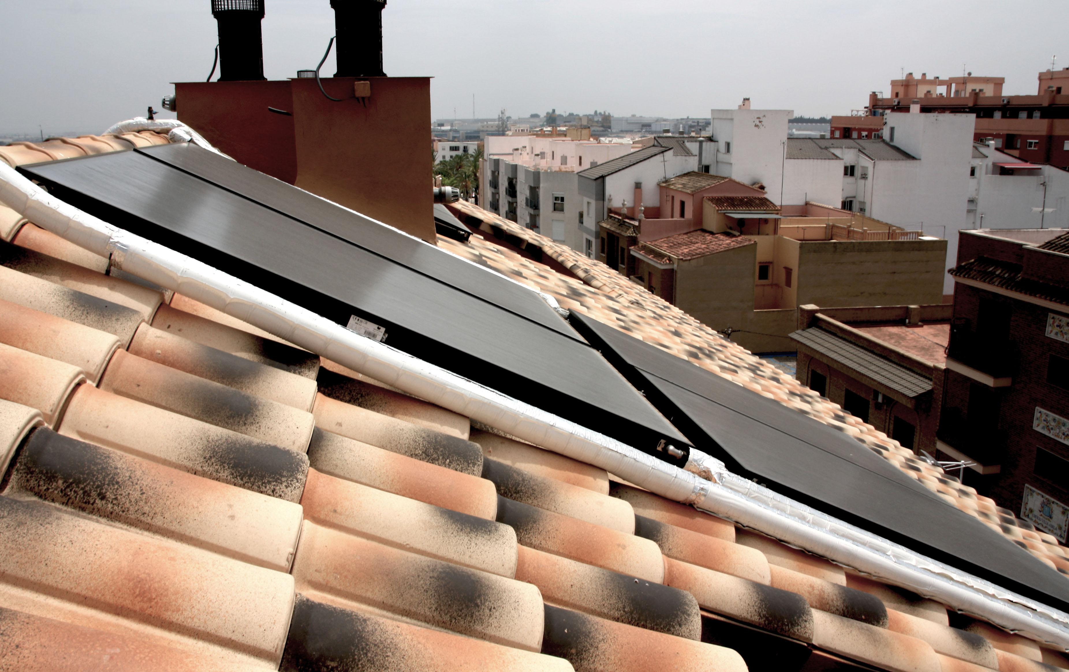 Energ a solar t rmica ts clima instalaci n aire acondicionado valencia - Instalador de placas solares ...