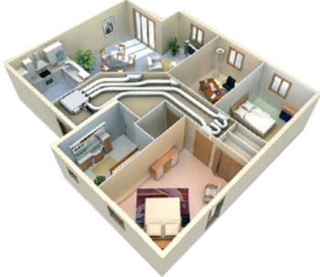 Ventajas del aire acondicionado por conductos ts clima for Instalacion de aire acondicionado por conductos