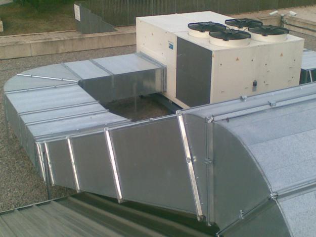 Aire acondicionado conductos ts clima instalaci n aire for Conductos de aire acondicionado