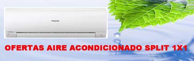 Ofertas aire acondicionado split 1×1